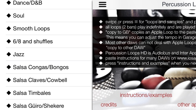 Percussion Loops HD screenshot-0
