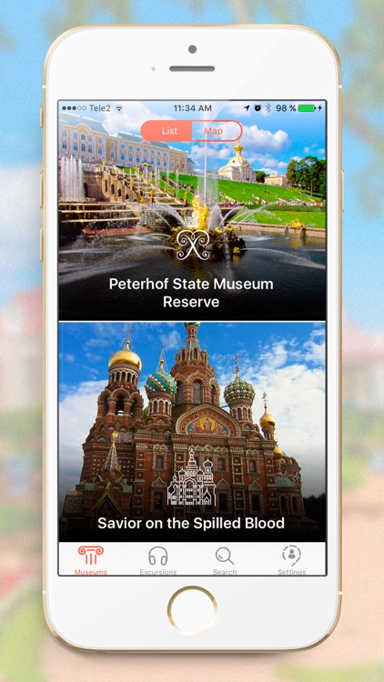 Indoor Museums Audio Guide SPb