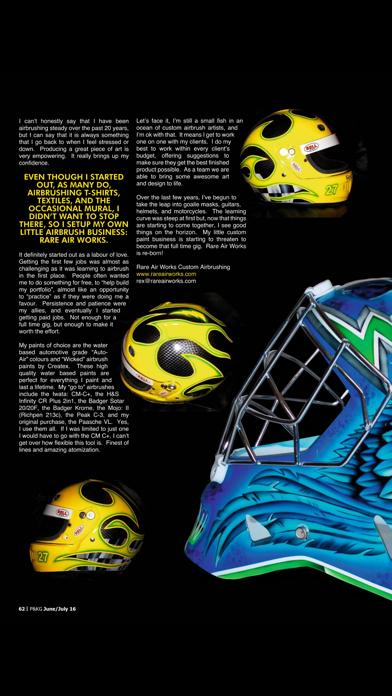 Pinstriping & Kustom Graphics Magazine screenshot four