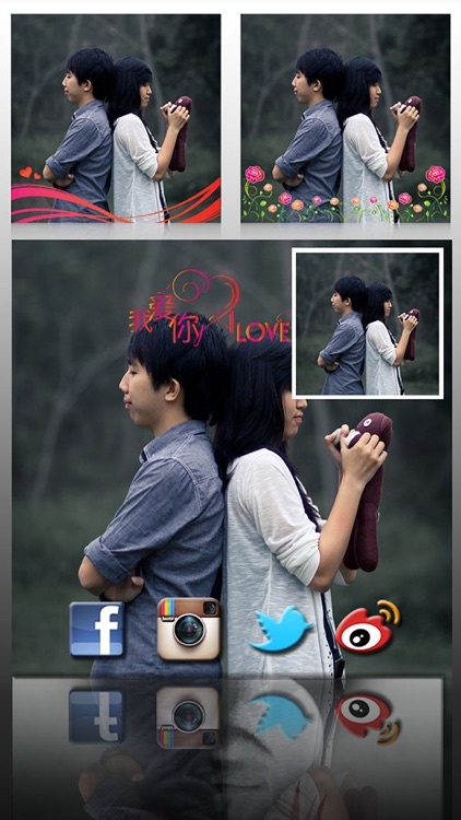 AceCam Romantic Greetings - Photo Effect for Instagram screenshot-4