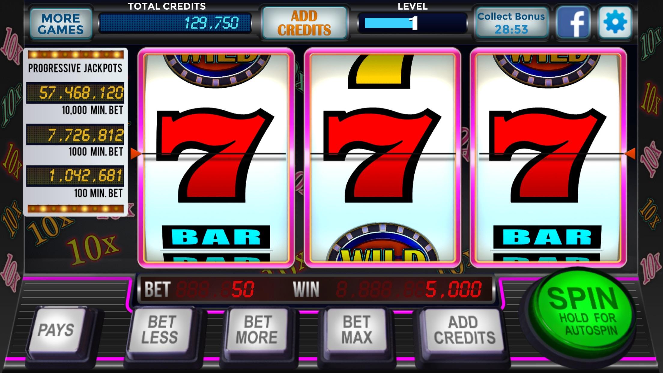 Slots Vegas Casino Screenshot