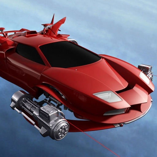 Flying Car Driving Simulator: Extreme Muscle Car Flight Pilot