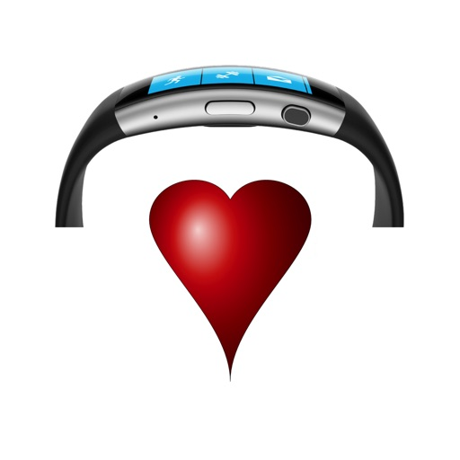 Heart Band - target zone monitor for exercise & training w/ finder tool
