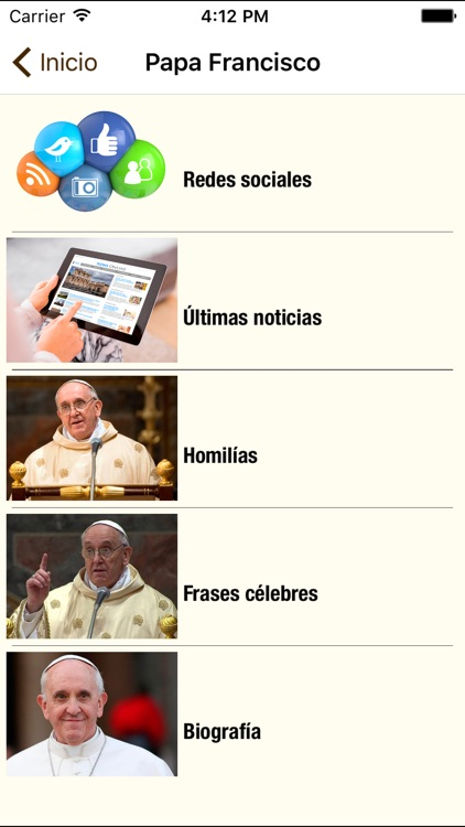 El Papa y mi Fe screenshot-1