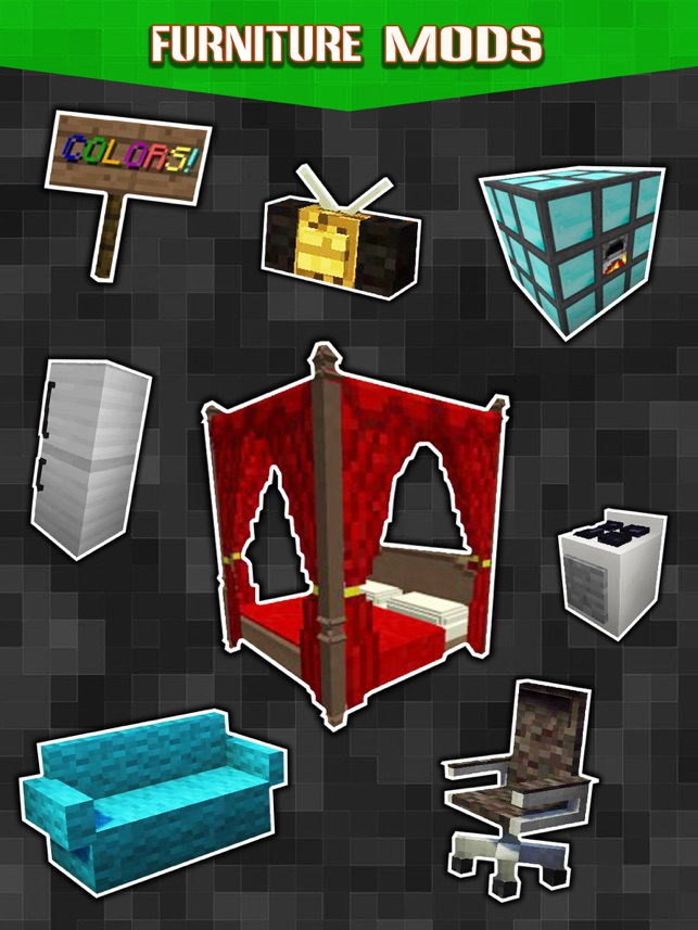 New Furniture Mods - Pocket Wiki & Game Tools for Minecraft