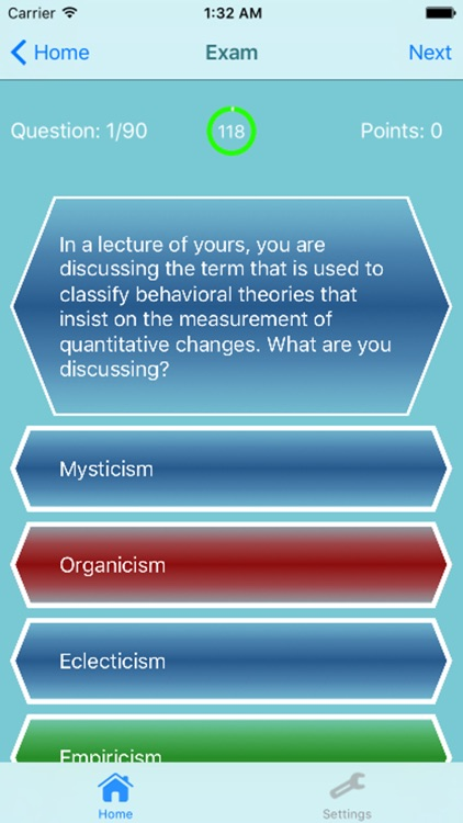 Examination for Professional Practice in Psychology 600 Questions