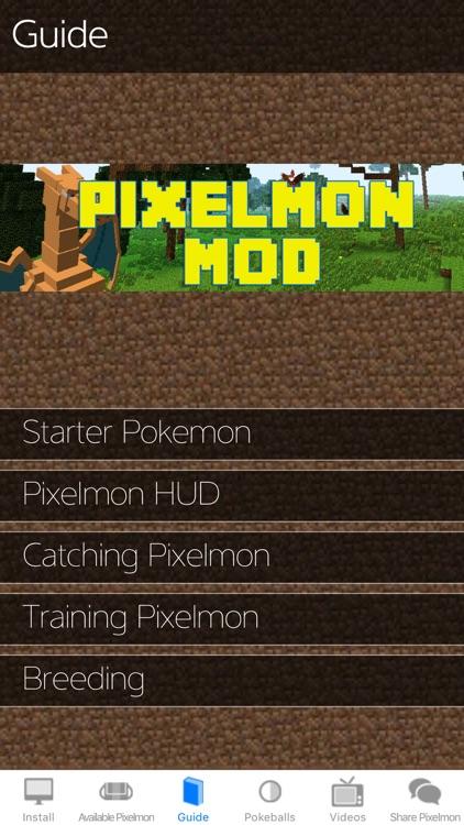 Pixelmon Mod for Minecraft PC Edition: McPedia Pro Gamer Community Ad-Free