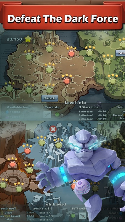 Dictator Clash : build royal castle and magic tower, defense kingdom frontier, challenge evil army screenshot-3