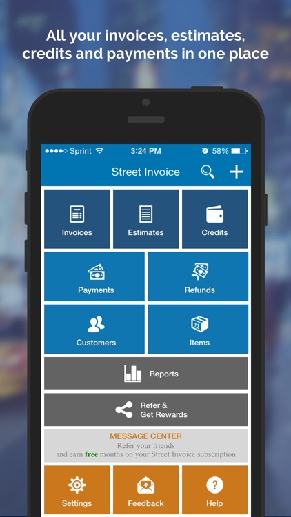 Street Invoice - Mobile Invoicing
