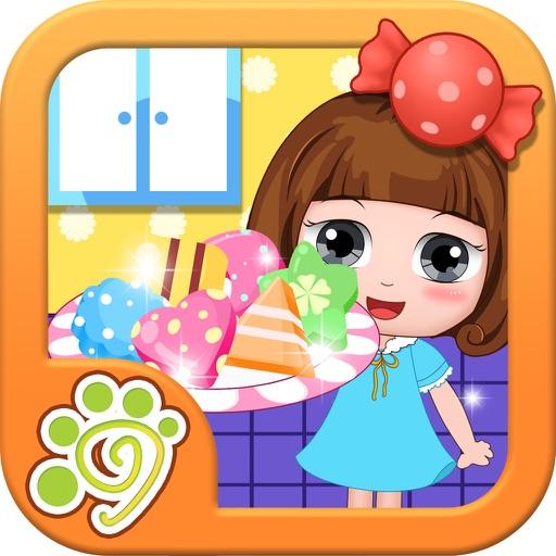 Baixar cozinha fabricante de doces Belle - jogos infantis para iOS