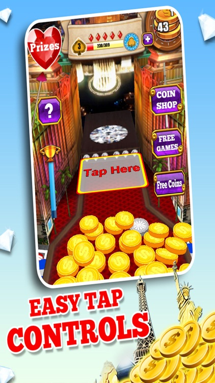 Diamond Dozer Coin Pusher: Free screenshot-2
