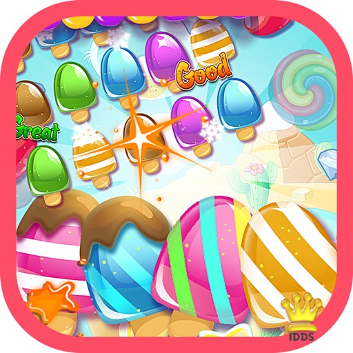 Icecream crush Games - Kids Ice Cream Food match FREE
