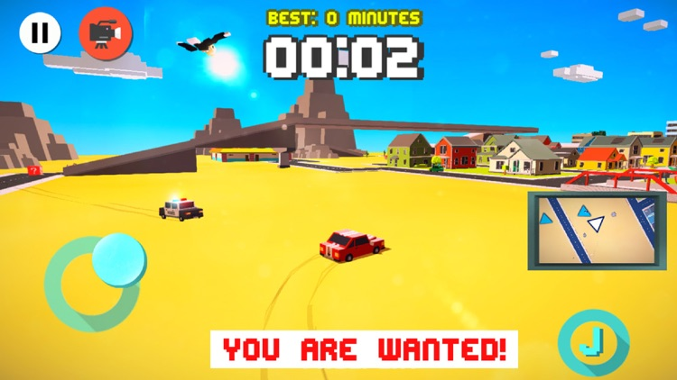 Drifty Dash Pro - Smashy Wanted Crossy Road Rage - with Multiplayer screenshot-3