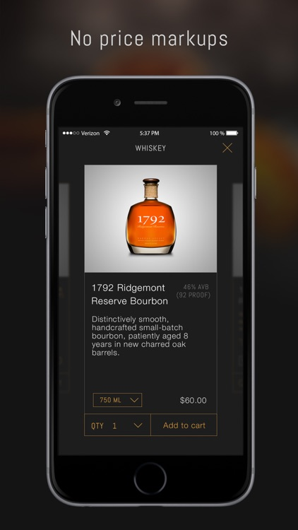 Thirstie: Alcohol delivery and cocktail recipes