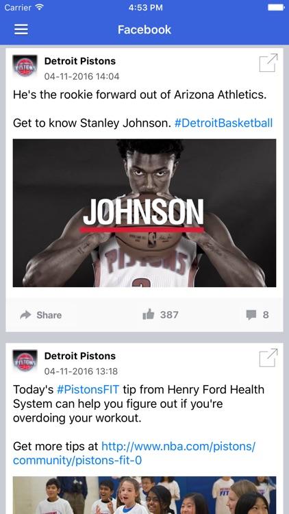News Surge for Detroit Pistons Basketball News Pro screenshot-4