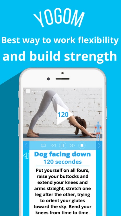 YOGOM - Yoga app free - Yoga for beginners.