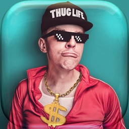 Thug Life Photo Booth - SWAG Stickers for MSQRD Prisma Mlvch