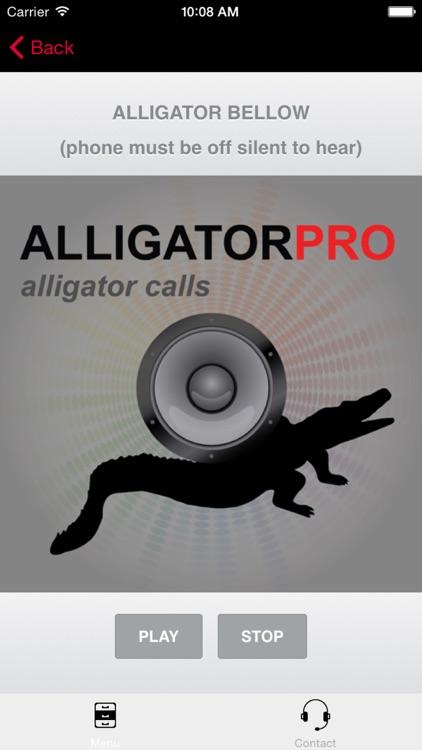 REAL Alligator Calls and Alligator Sounds for Hunting Alligators screenshot-0