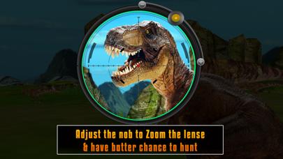 Dinosaur hunting 2016 pro : Free Jurassic Shooting game screenshot two