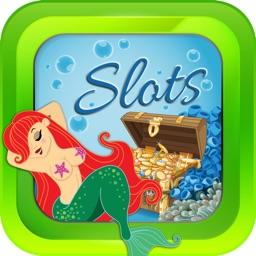 Aqua Ocean Slots Casino - Vegas VIP - Mermaids and Treasures of the 777 Seas