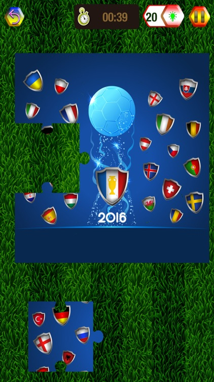 Euro Cup 2016 Puzzle Game – European Football Championship in France Picture Jigsaw Puzzles screenshot-3