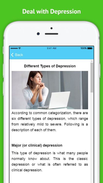 How to Deal with Depression screenshot-3