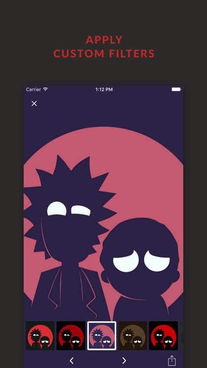 HD Wallpapers Rick And Morty Edition + Free Filters