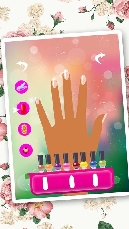 Nail Art Salon Girls Free Manicure Beauty Hands Makeover Dressup
