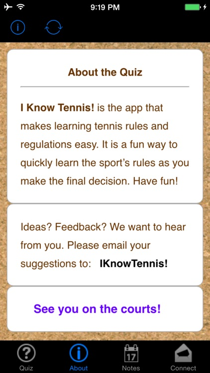 IKnowTennis! screenshot-0