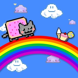 Nyan Cat Rainbow Runner