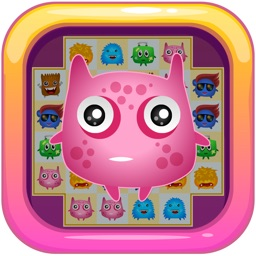 Monster Busters: Match 3 Puzzle FREE Game