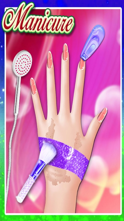Wedding Preparation Nail Manicure Pedicure - Virtual Nail Art, Nail Salon games for girls