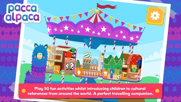 Pacca Alpaca - Travel Playtime: fun activities for kids screenshot-0