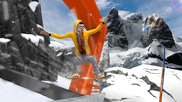 Snowboard Extreme Mountain Freestyle Winter Sports Snowboarding Game