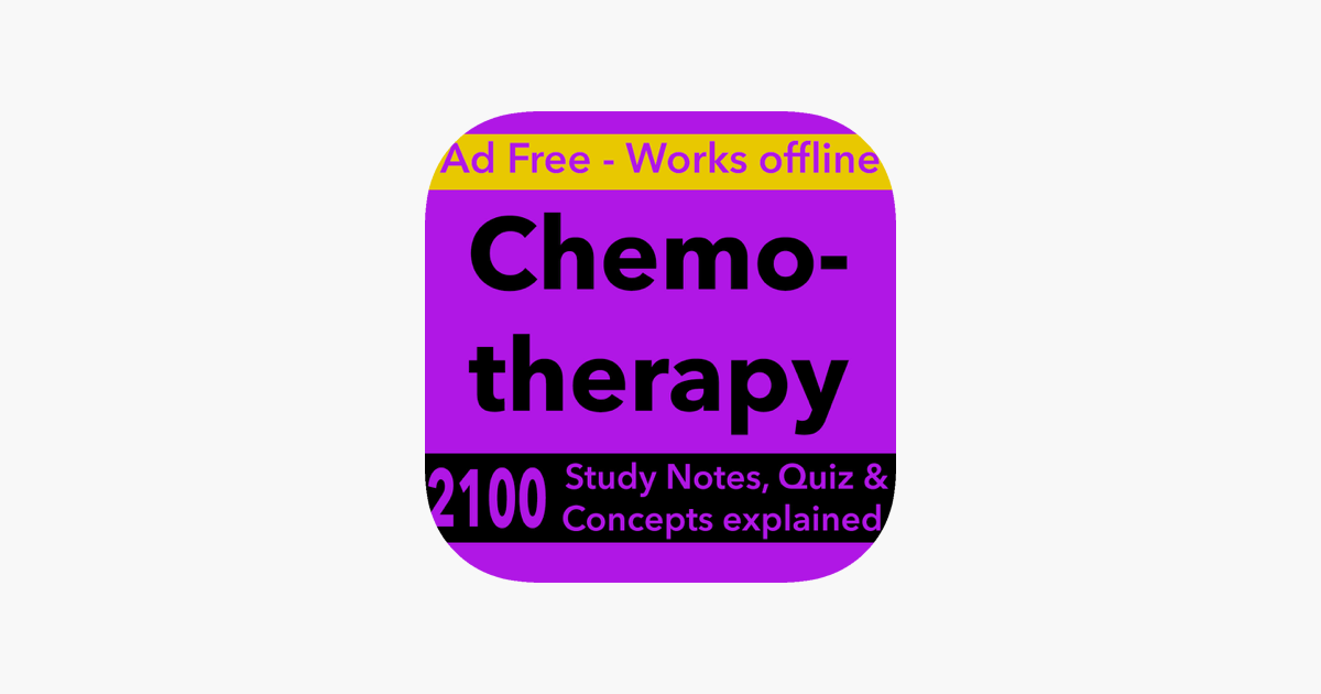 Chemotherapy Exam Review 2100 Terms Quizzes On The App Store
