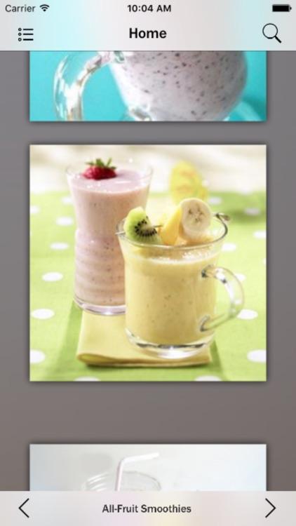 Smoothie Recipes Guide screenshot-4