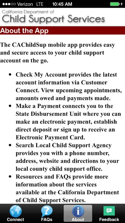 CAChildSup screenshot-2