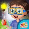 孩子们有趣的科学实验 - 做化学实验在这个孩子们学习游戏