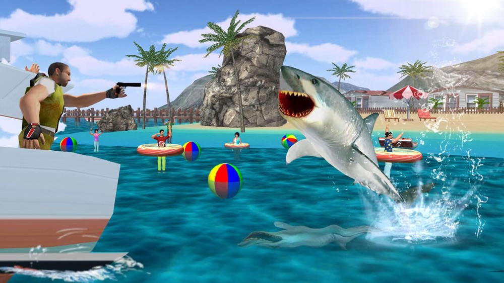 Shark Attack Revenge on Innocent Fisherman Boats Free Fishing Games hack tool