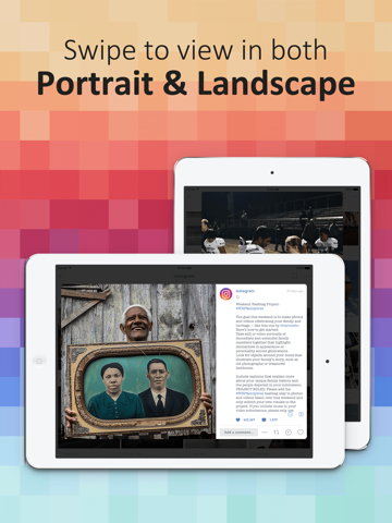 PadPics for Instagram - Free IG Photo & Videos Viewer for iPad screenshot three