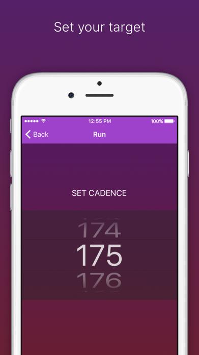 RunCadence Mobile Screenshot