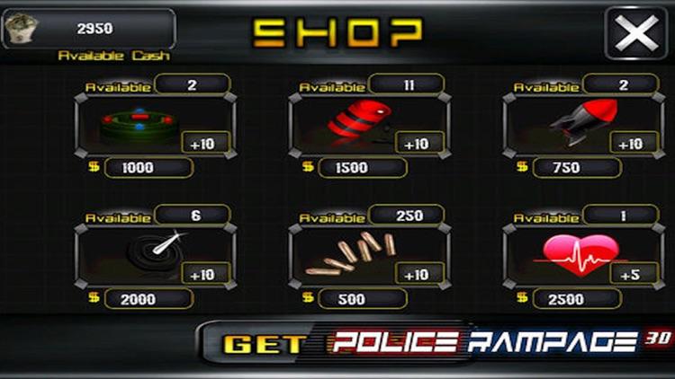 Police Rampage 3D Free ( Car Racing & Shooting Game ) screenshot-4