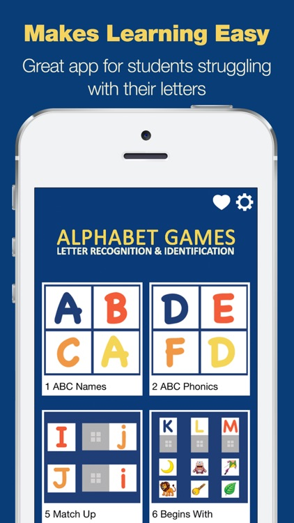 Alphabet Games - Letter Recognition and Identification
