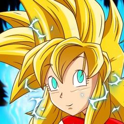 Super Saiyan Girls Dress-Up : game battle adventure dokkan dragon ball goku edition