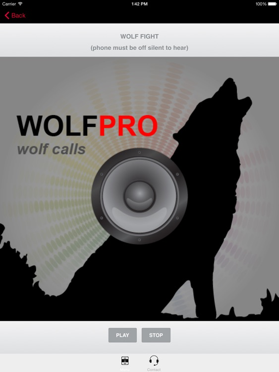 REAL Wolf Calls and Wolf Sounds for Wolf Hunting -- (ad free) BLUETOOTH COMPATIBLE screenshot-3