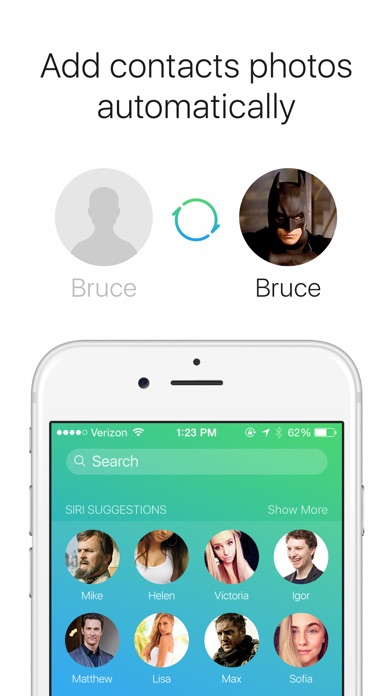 SyncPlus: Contacts Photos from Facebook, VK and OK, Reverse Caller ID Lookup Screenshot 2