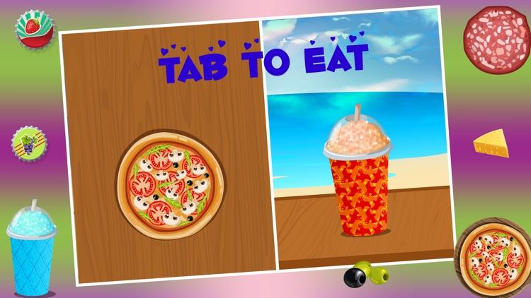 Slush and Pizza Maker – Free Crazy Italian Pizzeria Chef Restaurant & Kitchen cooking Games for Girls screenshot-4