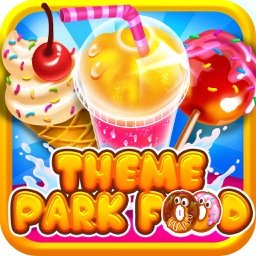 Theme Park Fair Food Maker Candy Dessert Cook Game