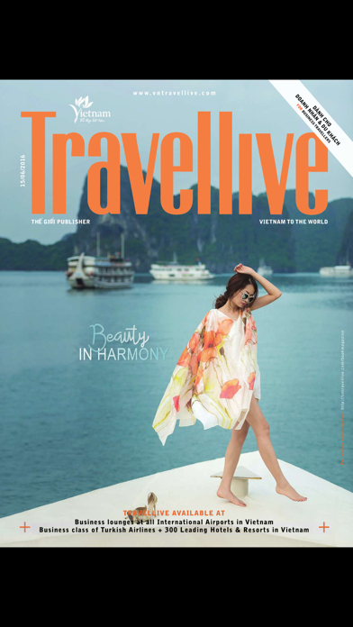 Travellive Magazine screenshot one