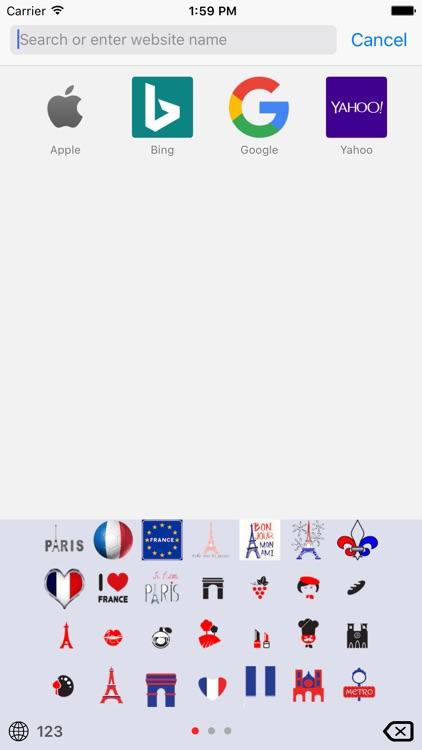 France Emoji Keys